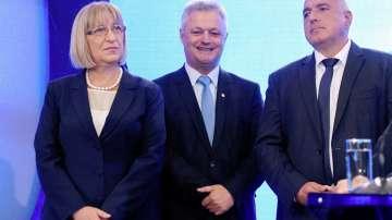 Политически реакции за кандидат-президентската двойка на ГЕРБ