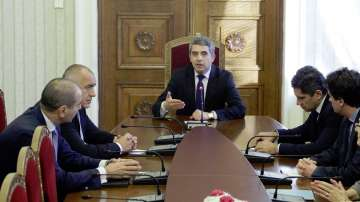 ГЕРБ на политически консултации при президента Плевнелиев
