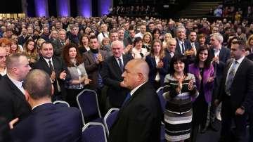 Първа предизборна среща на ГЕРБ в НДК