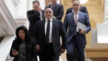 Лидерите на ГЕРБ и БСП потвърдиха, че коалиция между тях е невъзможна