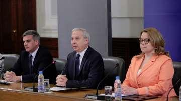 Премиерът Огнян Герджиков представи отчета за свършеното от служебния кабинет