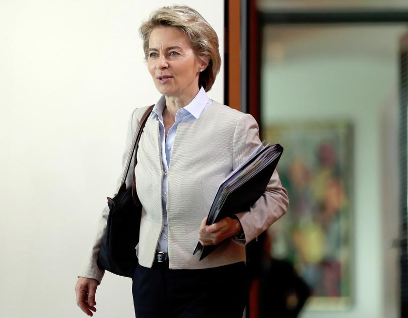 Урсула фон дер Лайен е на посещение в Хърватия