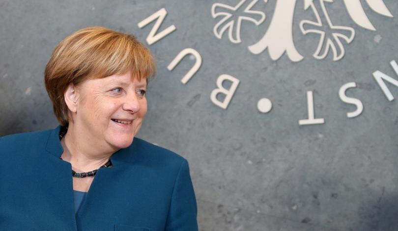снимка 1 Германското разузнаване официално се нанесе в нова сграда в центъра на Берлин