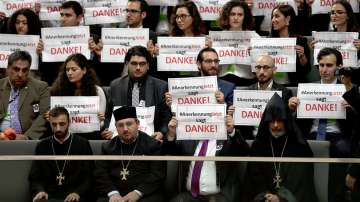 В Германия определиха масовите убийства на арменци като геноцид
