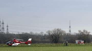 Четирима души загинаха при сблъсък между малък самолет и хеликоптер в Германия