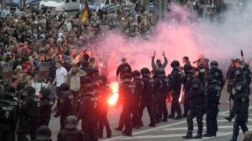 Ескалация на напрежението в германския град Кемниц