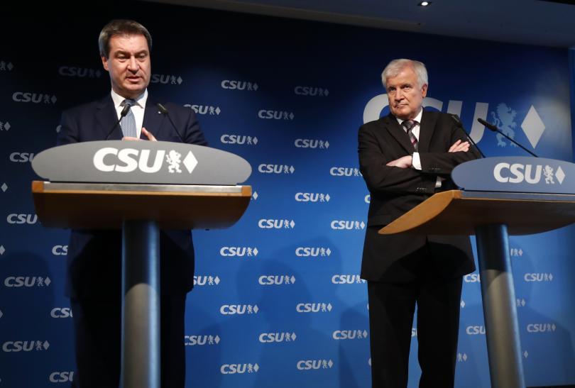 Германските партии започват анализ на знаковите избори в южната германска