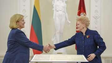 Германия даде временно на Литва копие от декларацията ѝ за независимост