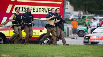 Стрелба в търговски център в Мюнхен