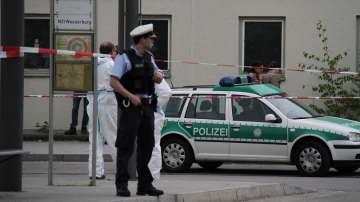 Нападения с хладно оръжие на гара в Германия
