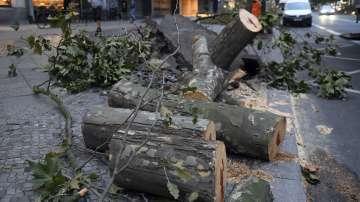 Транспортен хаос след бурята в Германия и Полша