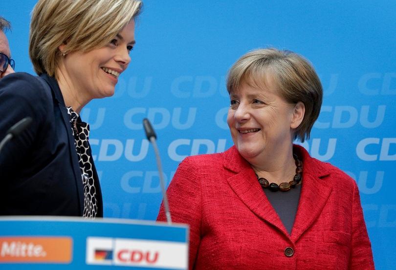 снимка 1 Ангела Меркел няма да променя миграционната си политика