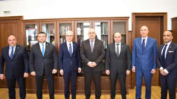Главният прокурор Иван Гешев се срещна с генералния секретар на Интерпол