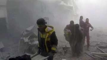 Твърдение за химическа атака в Сирия и предстоящо примирие
