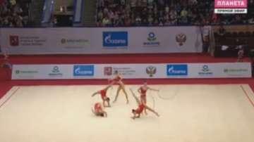 5 медала за гимнастичките ни на Гран при в Москва
