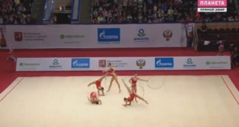 Националният ни отбор по художествена гимнастика завърши днешния ден с