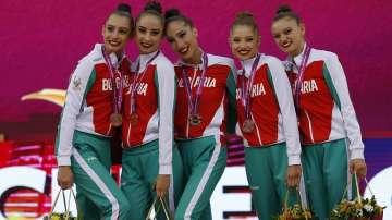 Сребърен медал за ансамбъла по художествена гимнастика на финала на топки в Баку
