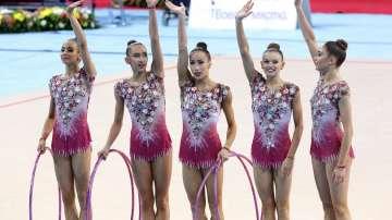 Два златни и три сребърни медала за българските гимнастички в Баку