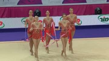 Пето място за българския ансамбъл по художествена гимнастика в Холон