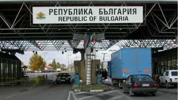 """Интензивен трафик за тежкотоварни автомобили на изход на ГКПП """"Капитан Андреево"""""""