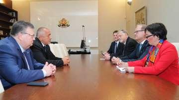 Премиерът Борисов се срещна с главния прокурор на федерална провинция Бавария