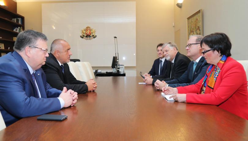 Министър-председателят Бойко Борисов се срещна с главния прокурор на федерална