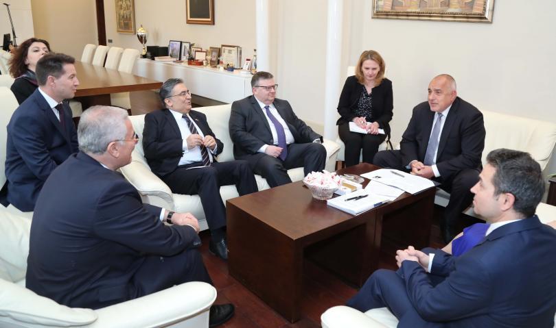 снимка 1 Премиерът Борисов се срещна с главния прокурор на Турция