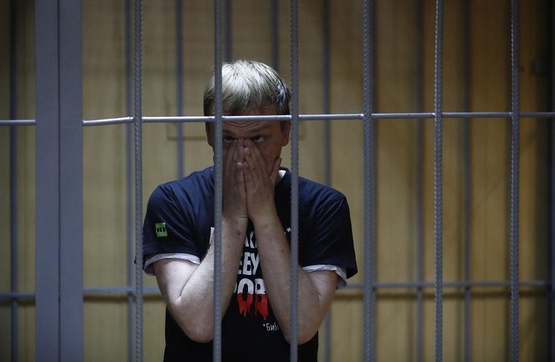 Снимка: Руски медии се обединиха в защита на журналиста Иван Голунов