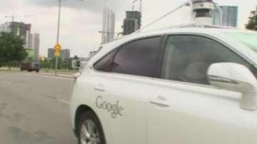 Колата на Гугъл предизвика инцидент в Калифорния
