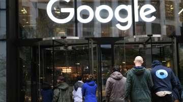 Протест на служители на Гугъл