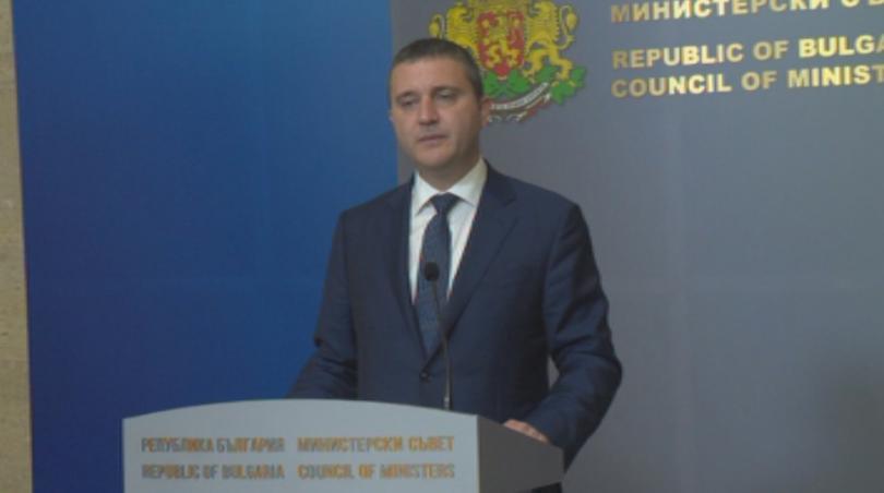 Правителството даде мандат на финансовия министър Владислав Горанов да поиска