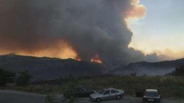 Продължават да бушуват горски пожари в Европа и Канада