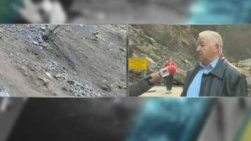 Кметът на с.Търън: Опасно е свлачището на пътя Смолян - Мадан