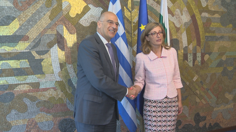 Министърът на външните работи на Гърция - Николаос Дендиас е