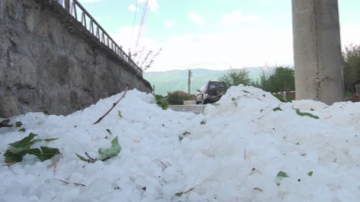 Сформирани са комисии за оценка на щетите от градушката в Карлово и Нова Загора