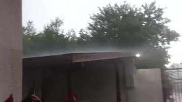 Градушка вали в София