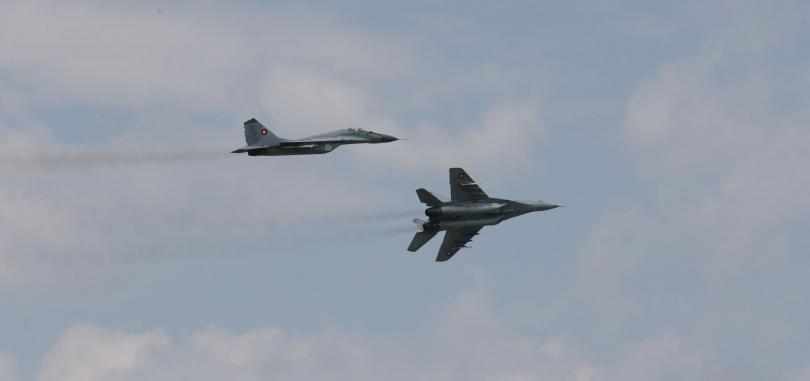 ВВС ще изпълнят тактически мисии и задачи на тренировката Тракийска звезда