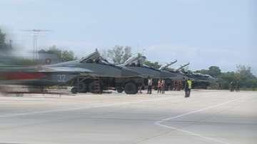 Пилоти от авиобаза Граф Игнатиево не летят и днес
