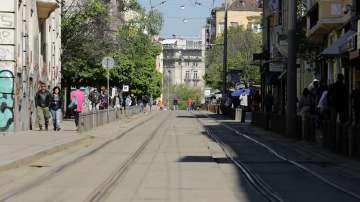 """От днес спират трамваите по софийската улица """"Граф Игнатиев"""" заради ремонт"""