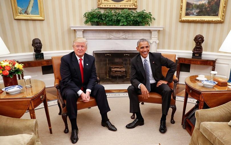 Срещата Тръмп-Обама: Първият от разговорите за смяна на властта във Вашингтон