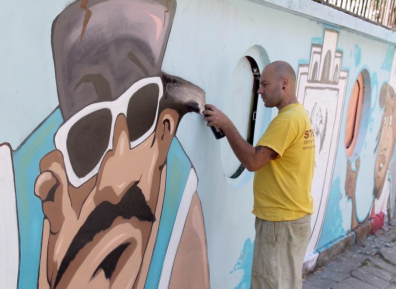 двудневен графити фест събира търговище млади таланти цялата страна