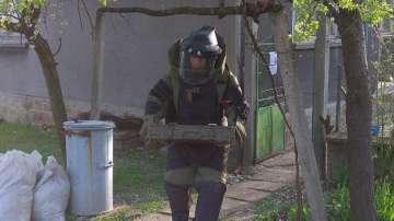 Военнослужещи иззеха невзривен боеприпас в село Крумово
