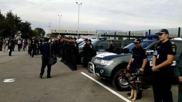 Европейската гранична охрана започна работа от Капитан Андрево (СНИМКИ)