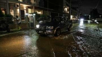 Водна стихия нанесе големи щети на Халкидики