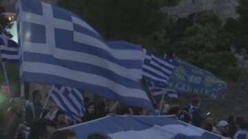 Реакции в Гърция след референдума в Македония