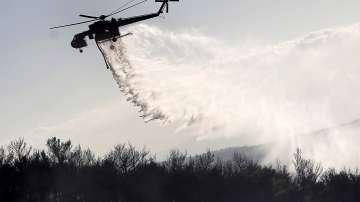 Горският пожар около Атина е овладян