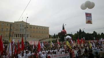 Стачката в Гърция достига кулминация тази вечер
