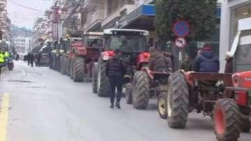 Напрежението между фермерите и полицията в гръцкия град Серес ескалира