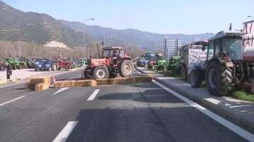 Гръцките фермери обсъждат резултата от преговорите с премиера Ципрас