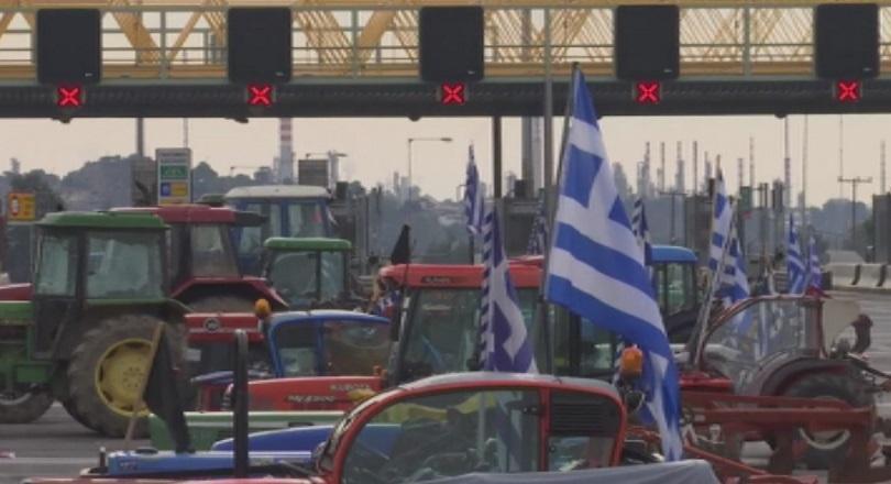 януари гърция фермерски блокади